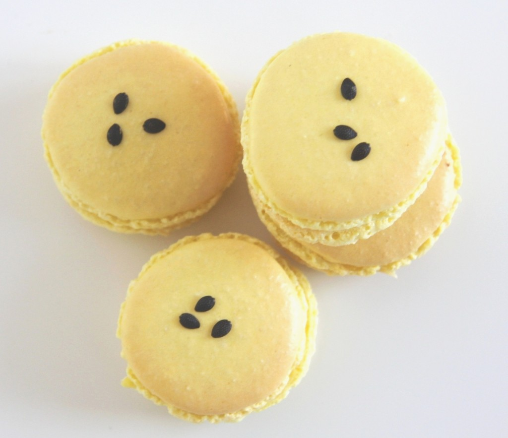 Passionsfrugt macarons