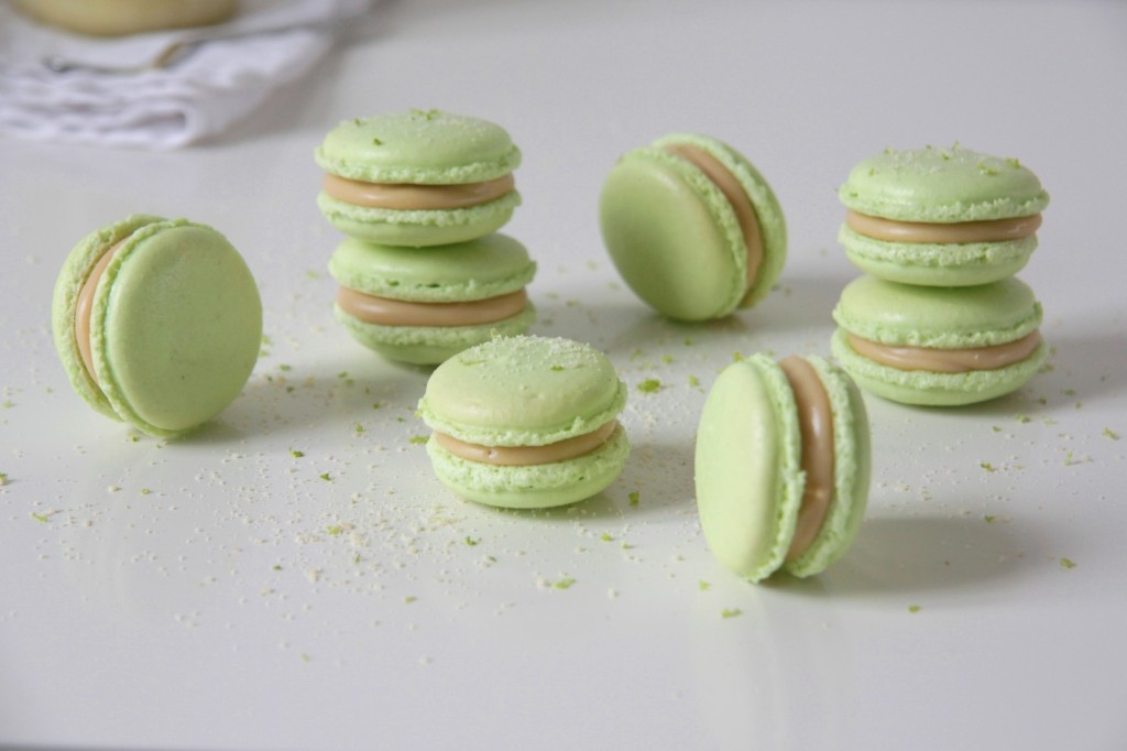 Lime Macaron