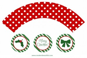 Cupcake_wrapper_topper - Christmas_modernbeautiful