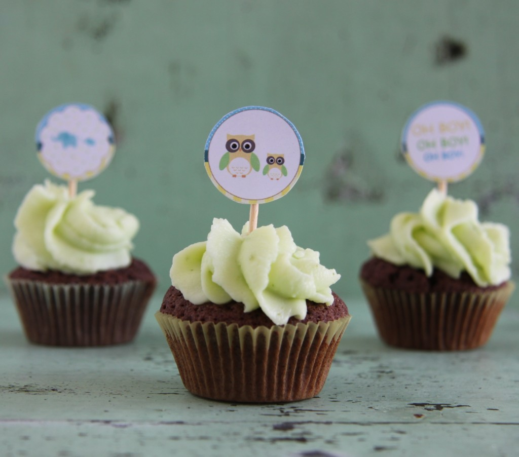 Cupcake - toppers